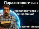 Паразитология. ч.7. Дифиллоботриоз и Тениаринхоз