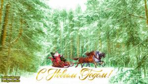 С новым годом Дед Мороз