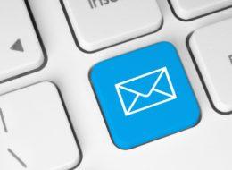 Обновление электронной почты